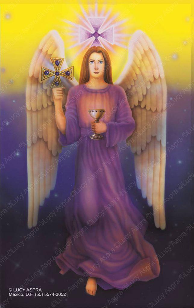 Resultado de imagen para zadquiel arcangel lucy aspra