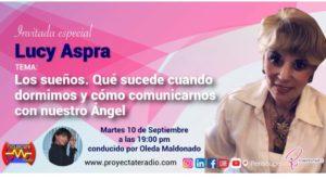 Lucy Aspra en Conferencia